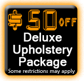 $50 OFF Upholstery Cleaning Coupon