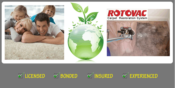 Rotovac Carpet Restoration System - Licensed, Bonded, Insured, Experienced
