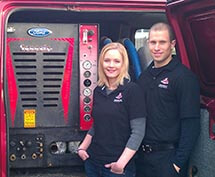 Sarah & Robert, Owners - Grossbusters Carpet Cleaning